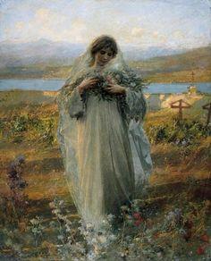 """lionofchaeronea: """"Peace, Giuseppe Mentessi, 1907 """""""