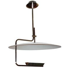 Stainless Pendant Ceiling Light | From a unique collection of antique and modern chandeliers and pendants  at https://www.1stdibs.com/furniture/lighting/chandeliers-pendant-lights/
