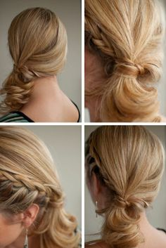 Side Braid #hairstyles