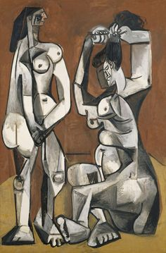 Pablo Picasso - Femmes a la toilette (Women at their Toilette)   Musée National Picasso