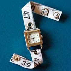 measuring tape watch band