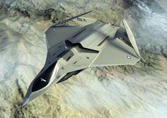 F - X Next Generation Fighter Jet, Birmel Guerrero on ArtStation at https://www.artstation.com/artwork/zBa0Q