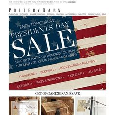 pottery barn day sale hurry and save up to 60