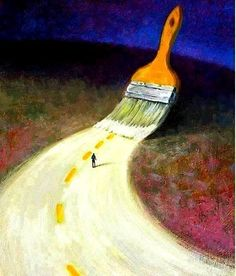 """Angi Sullins   Dear Life Artist,  A wise sage once said, """"as you begin to move out on the way, the way appears."""" You got this. Love,  The Muse"""