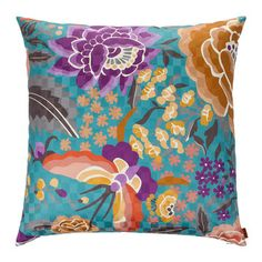 Discover the Missoni Home Samoa Cushion - 174 - at Amara Floral Throws, Floral Throw Pillows, Luxury Gifts, Missoni, Home Accessories, Neutral, Stuff To Buy, Flower, Butterfly