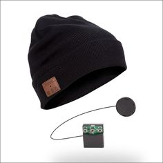 SK-H003B Bluetooth Beanie, Wireless Plain Cuff Beanie, Bluetooth Knitting Beanie with microphone, hands free talking for iphone 6, iphone 6 plus, iPhone 5s, iPhone 5, iPhone 5c, iPhone 4s, iPhone 4; iPad, iPad Mini, iPad Air; Samsung Galaxy s5, Galaxy s4, Galaxy s3, Galaxy s2; Galaxy Note 3, 2; LG G2, etc. by Seekas Technology Co., Ltd. www.seekastech.com