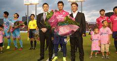 Hotaru Yamaguchi makes 100th appearance