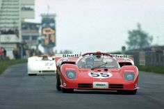 1970 ADAC 1000 kms Nurburgring : John Surtees (Vaccarella), Ferrari 512 Spyder #55, SpA Ferrari, 3rd