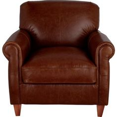 Heart of House Kingsley Leather Club Chair - Tan.