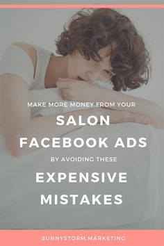 The 6 biggest mistakes that salons make in their Facebook ads...Social Media Marketing | SMM |  Facebook Marketing | Facebook Growth #socialmediamarketing #socialmedia #SMM #facebookmarketing #facebookgrowth #facebookads Facebook Ads Manager, Facebook Marketing, Make More Money, Make Money Blogging, Marketing Articles, Marketing Ideas, Media Marketing, Salon Business, Business Ideas