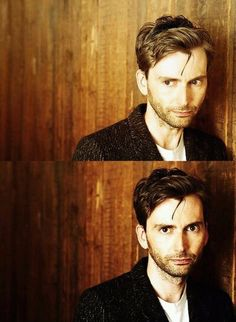 David Tennant; oh how I wish I was that good looking... with longer rockstar hair of course!