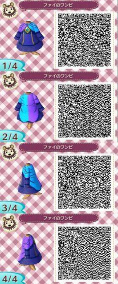 Animal Crossing New Leaf pattern: Fi, from The Legend of Zelda: Skyward Sword | #ACNL #3DS  @Nintendo #WiiU