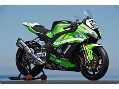 Kawasaki ZX-10R World Superstock racer.   In the furture World Superbikes will be 'dumbed down' to become around the spec of current superstock levels: This means, ignition and fuelling module and aftermarket exhausts, Aluminium wheels, rearsets and possibly aftermarket swingarms- and that's about it.   Many are concerned about this change but, done well, it could be a great boost.  WSB was always meant to be based on road bikes and should return to it's roots.