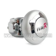 Name: TYPE-R Car Steering Wheel Spinner Knob Power Handle TR-386      Brand: TYPE-R, a famous and professional car accessories manufacturer, produce high-quality and creative products.      Weight: 0.1kg      Dimension: Dia 5.5cm      Material: Plastic & Metal        1. Usually drivers need to twist hard when making a turn, but this device will save your strength.      2. It is made by metal baking varnish technology so the looking is more fashionable.      3. Delicate design to make your…