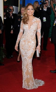 Excellent Embroidery - Jennifer Lopez's Most Glam Looks - Photos