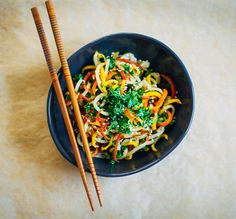 10 Insanely Delicious Veggie Noodle Recipes That Are Better Than Pasta