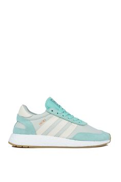 Adidas Iniki Runner in Green White Green  (Get the look at www.shopAKIRA.com ) #ShopAKIRA #Adidas #AdidasSneakers #AdidasIniki #InikiRunner #AdidasOriginals #Originals #GymShoes #Athlete #Adidas #Green #MintGreen