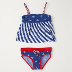Infant Nautical...I need a little girl to put this on!