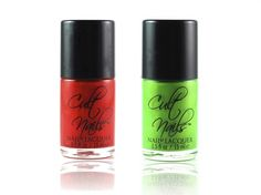 Cult Nails Cocos Untamed Collection for Fall 2012...for the hottest manicures....