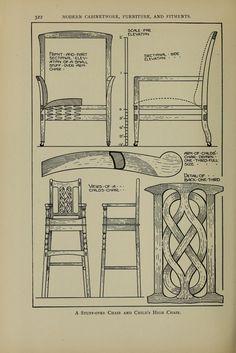 Modern cabinetwork,