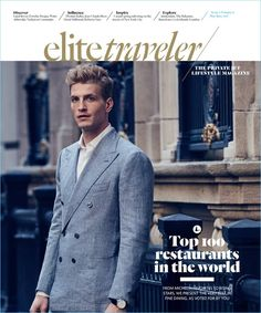 Dean Isidro (Atelier Management) photographs Jesse Shannon for the May/June 2017 cover of Elite Traveler. Taking to the streets of New York, Jesse connects with stylist Matt Bidgoli. The American model cleans up in a sartorial wardrobe, complete with luxury brands. Although, the shoot features a number of sharp suits, Bidgoli also features elevated sportswear....[ReadMore]