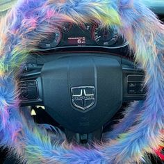 Fuzzy Car Accessories Steering Wheel Cover Gear Shift Knob | Etsy Fuzzy Steering Wheel Cover, Holographic Car, Automotive Carpet, Key Covers, Car Mods, Fabric Textures, Future Car, Rear View Mirror, Car Accessories