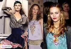 hippie chic style | Vanessa Paradis - Style hippie chic