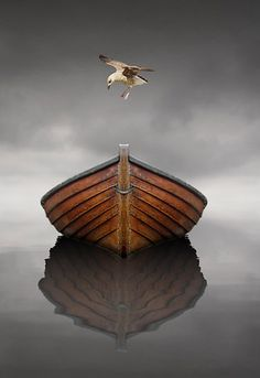 Writing prompt. Why is the boat empty? What kid of story does this picture bring to your mind?