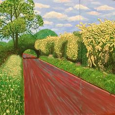 Hockney - spent my Sunday here - what a treat for the soul and eyes extraordinary man extraordinary body of work the filmed trees at the end are mesmeric- loved every second - what a treat! #amandaaustinflowers #flowers #hockney #beauty #sundaytreats #flowerdiary