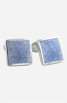 David Donahue Sterling Silver Cuff Links | Nordstrom