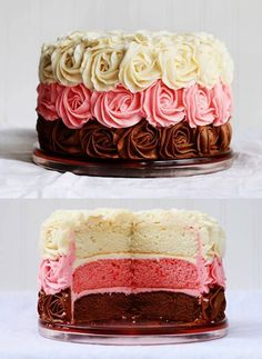 Yummy. Rose cakee