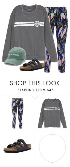 """Softball practice tonight :)"" by amberfmillard-1 ❤ liked on Polyvore featuring NIKE, Birkenstock, Sole Society and madden NYC"