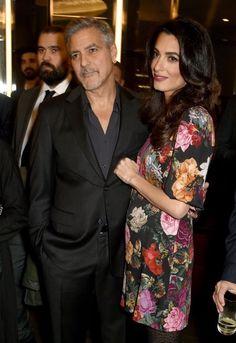 Después de someterse a fertilización in vitro George y Amal Clooney estarían esperando mellizos