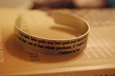 Doctor Who - Rose Bracelet    Only $5.00 (not including shipping), and SO beautiful! This quote makes me cry.