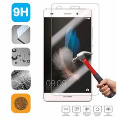 Tempered Glass Screen Protector Film For Huawei Ascend P8 P9 Lite Plus Honor 4A G8 5A Y6 II Compact 5C Y635 Y3C Y5C Y5 Y5II Caes #clothing,#shoes,#jewelry,#women,#men,#hats,#watches,#belts,#fashion,#style