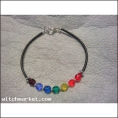 Sparkling Intentions™ Therapeutic Color Bracelet CHAKRA Balancing   $7.95