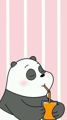 Panda Ice Bear Wallpaper Iphone We Bare Bears Cute Panda Wallpaper, Cartoon Wallpaper Iphone, Bear Wallpaper, Cute Disney Wallpaper, Kawaii Wallpaper, Cute Wallpaper Backgrounds, Animal Wallpaper, Wallpaper Wallpapers, Iphone Backgrounds