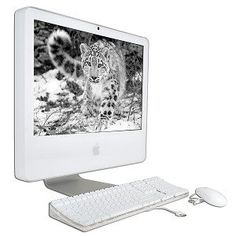 "Apple iMac G5 PowerPC G5 2.1GHz 512MB 250GB DVD±RW Radeon X600 XT 20"" AirPort OS X w/Webcam"