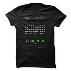 Cool Space Invaders Shirts & Tees