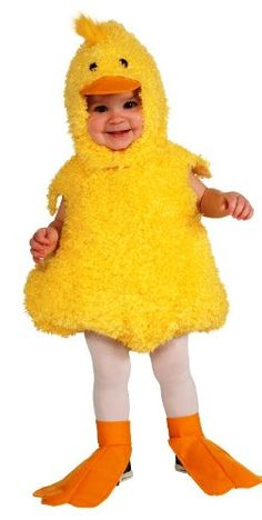 Rubie's Costume Cuddly Jungle Quackie Duck Romper Costume, Yellow, 12-18 Months Rubie's Costume Co http://www.amazon.com/dp/B007JAAA6I/ref=cm_sw_r_pi_dp_.1zWvb151VTF3