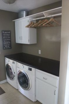"Get fantastic suggestions on ""laundry room storage diy cabinets"". They are actua… Get fantastic suggestions on ""laundry room storage diy cabinets"". They are actually accessible for you on our website. Laundry Room Shelves, Laundry Room Remodel, Basement Laundry, Small Laundry Rooms, Laundry Closet, Laundry Room Organization, Laundry Room Design, Basement Bathroom, Bathroom Plumbing"