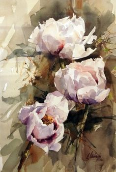 The Effective Pictures We Offer You About Makeup Art canvas A quality picture can tell you many things. Abstract Flowers, Watercolor Flowers, Arte Floral, Botanical Art, Watercolour Painting, Watercolors, Art Blog, Painting Inspiration, Flower Art