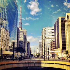 Avenida Paulista in São Paulo, SP