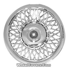 "15"" New Aftermarket Custom Hubcaps / Wheel Covers Set of 4 12 Series 15"" 1215 SPOKE WIRE DESIGN  #Hubcaps #WheelCovers"