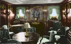 Second-class passengers were able to play shuffleboard, ring toss and board games while on the ship. For third-class passengers, however, activities were much less sparse, but they had a deck available where they could meet, chat and play games