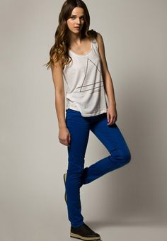 Soft organic cotton jeans from Monkee Genes #ecofashion #organiccotton #sustainabledenim