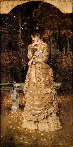 Autumn: ca 1876 - Alfred Stevens