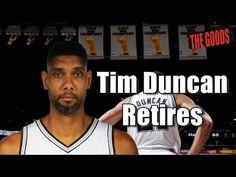 The Goods Podcast: Tim Duncan Retires