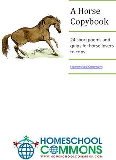 A Horse Book- with free copybook download!