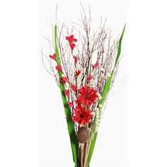 Daisy Bouquet - Red